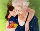 Nagymama és unoka közötti szeretet különleges és örök!