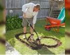 Senki sem értette, hogy a szomszédom miért ás ilyen furcsa barázdákat a kertben… az eredménytől minden szomszéd irigy lett!