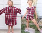 Az apuka ingeiből készít csodálatos ruhadarabokat a 4 gyermekes anya. Ezt nézd!