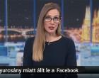 M1 híradó: Gyurcsány Ferenc miatt állt le tegnap a Facebook -hírparódia